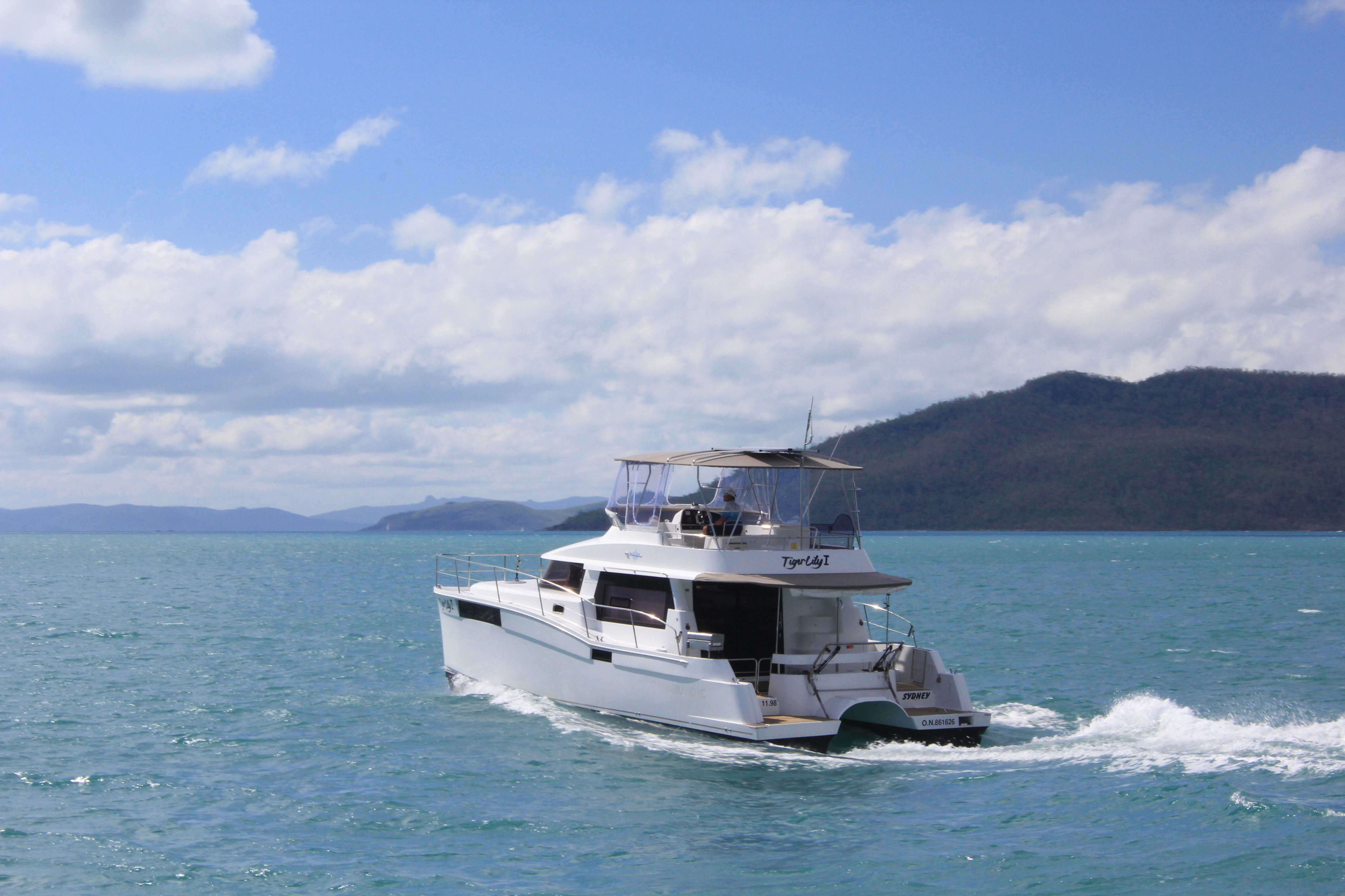 Whitsunday Escape Summerland 40 Underway