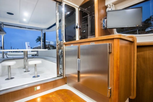Whitsunday Escape power catamaran Leopard 47 Fridge and Freezer