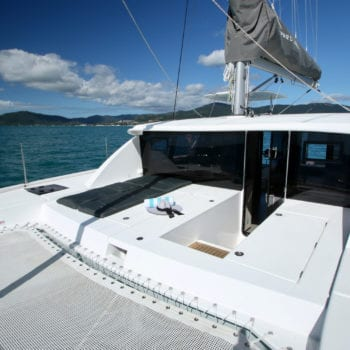 Whitsunday Escape Leopard 40 3 cabin foredeck