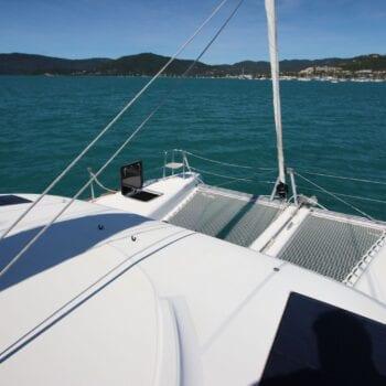 Lagoon 40 Front Deck Trampolines