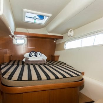 Leopard 46 Whitsunday Escape large aft double cabins