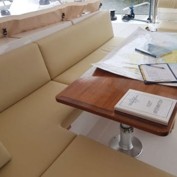 Whitsunday Escape Nautitech Open 46 Cockpit Dining Table