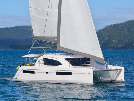 Whitsunday Escape Leopard 40 3 cabin under sail