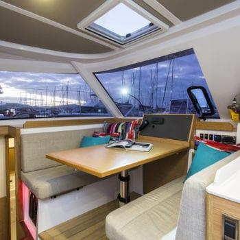 Whitsunday Escape Nautitech Open 40 saloon