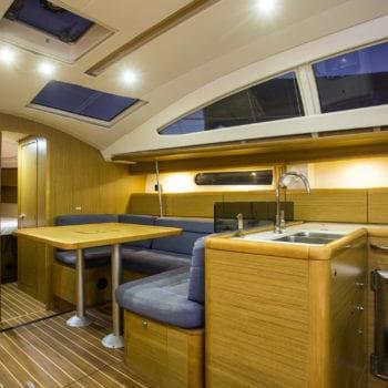 Whitsunday Escape sailing yacht Jeanneau 50 Saloon