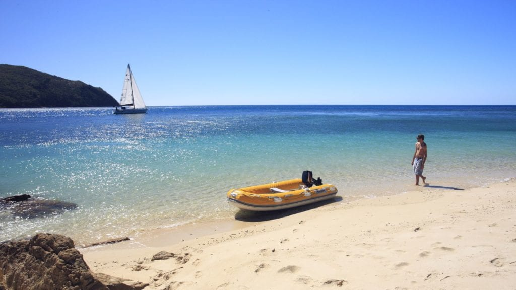 Sail to a private Whitsunday beach that's all yours for the day