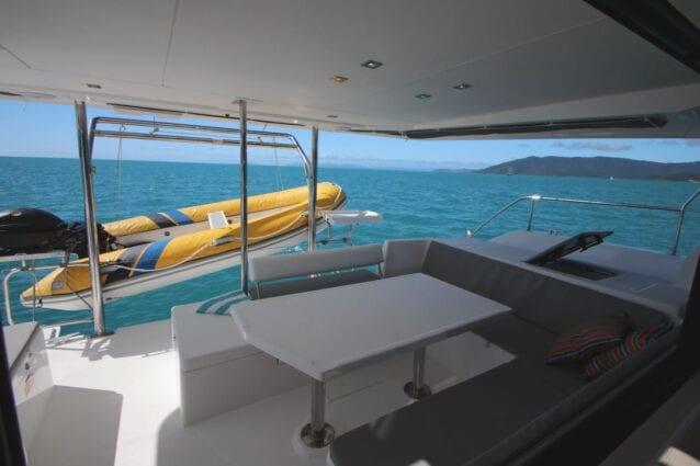 Whitsunday Escape Leopard 43.3 Power Catamaran Cockpit