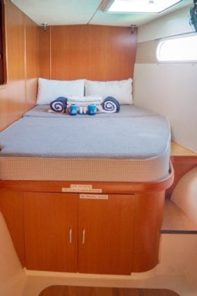 Leopard-47-Power-Catamaran-Starboard-forward-double-cabin