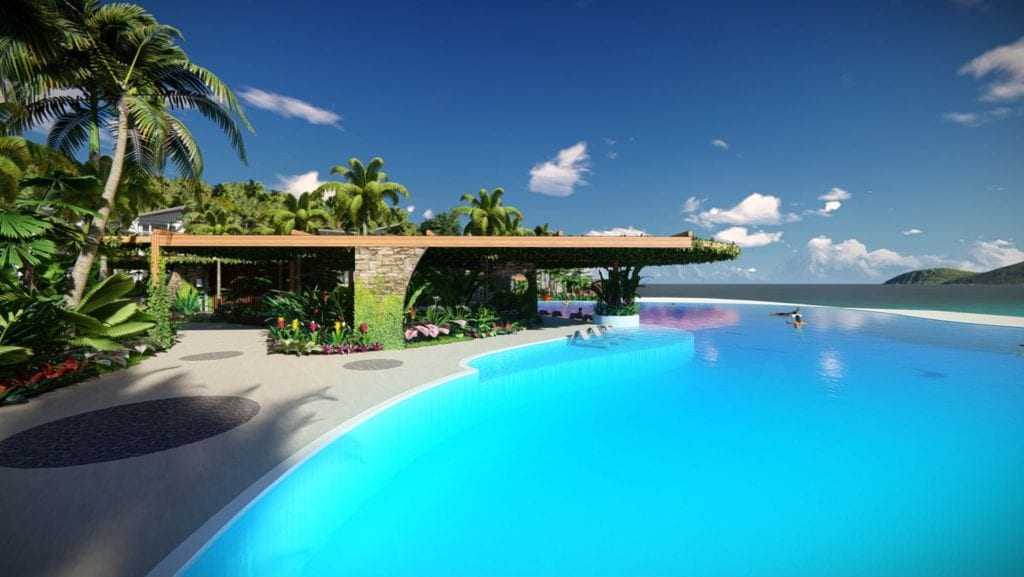 Daydream Island 2018 refurbishment new beachfront infinity pool