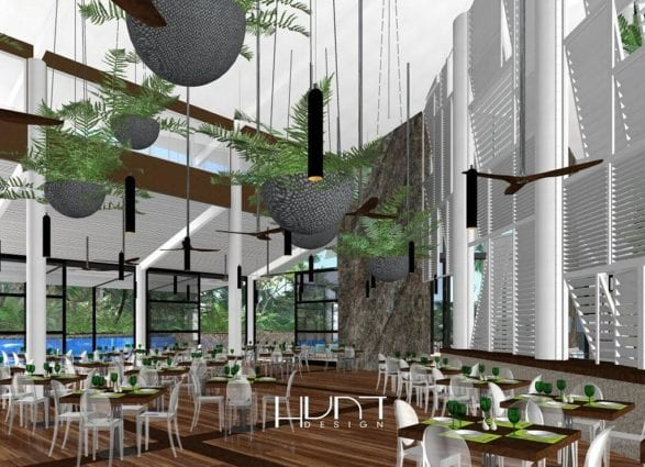 Daydream Island new restaurant Graze our to open April 2019, artists impression